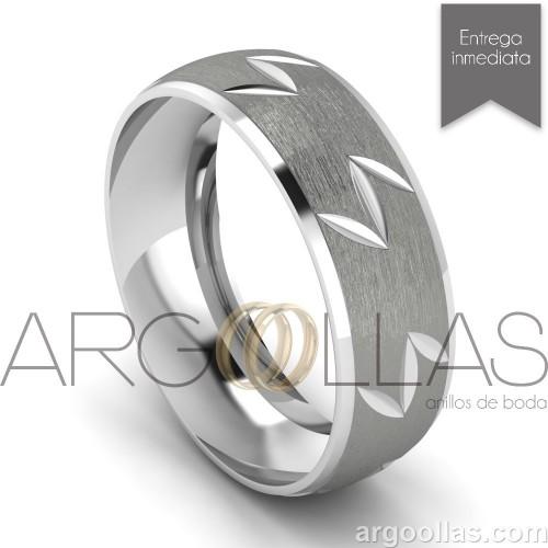 d37ce71c2487 Argolla Clásica Oro 10K 6mm Cepillado (Oro Amarillo